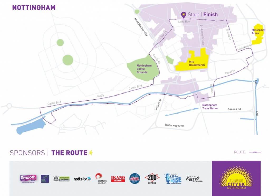 NEW Nottingham Map